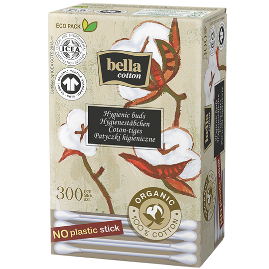 Bella Cotton BIO paper-stick buds