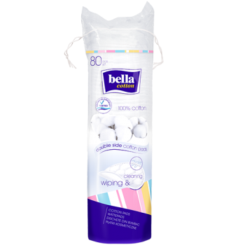 bella Cotton Wattepads - rund
