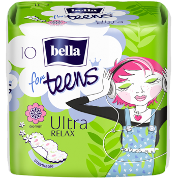 Bella for Teens Ultra Relax sanitary pads
