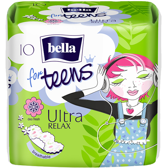 Podpaski Bella for Teens Ultra Relax