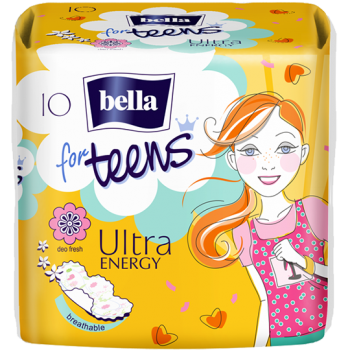 Bella for Teens Ultra Energy sanitary pads