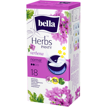 bella Herbs Slipeinlagen Verbena - normal