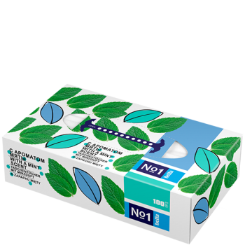 Bella No1 scented tissues – MINT